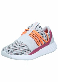 Under Armour Women's Breathe Lace Sneaker Halo Gray (10)/Pink Quartz