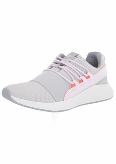 Under Armour womens Charged Breathe Lace Sneaker Halo Gray (104 White  US