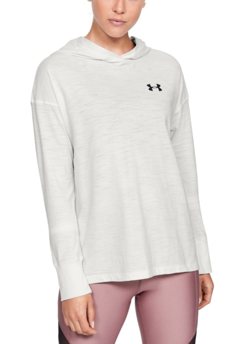 Under Armour Women's Charged Cotton Adjustable Hoodie