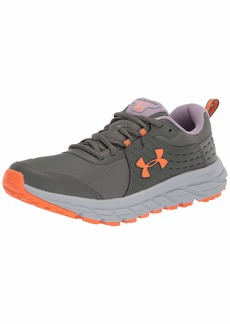 Under Armour Women's Charged Toccoa 2 Hiking Shoe Surface Gray (0)/Orange Spark