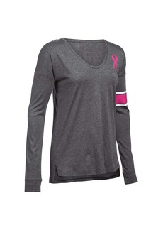 Under Armour Women's Favorite CM PIP LS Top
