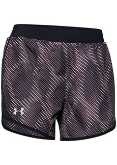 Under Armour Women's Fly By 2.0 Printed 3.5 Inch Short