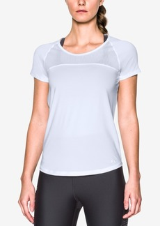 Under Armour Women's Fly By Cutout-Back Running Top