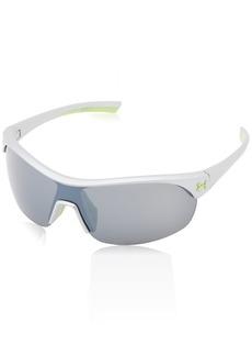 Under Armour Women's Marbella Shield Sunglasses Silver/Gray Lens