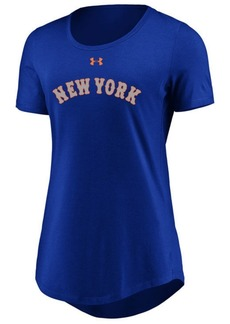 Under Armour Women's New York Mets Team Font Scoop T-Shirt