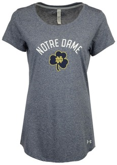 Under Armour Women's Notre Dame Fighting Irish Longline T-Shirt