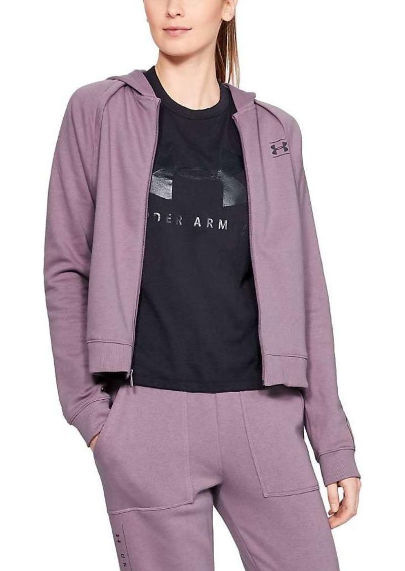 Under Armour Women's Rival Fleece Full Zip Top