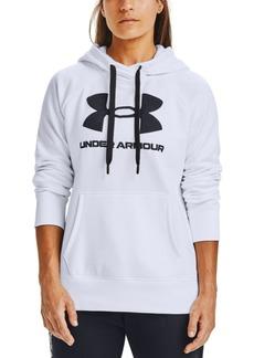 Under Armour Women's Rival Fleece Logo Hoodie