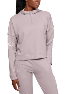Under Armour Women's Rival Half-Zip Hoodie