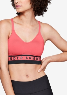 Under Armour Women's Seamless Strappy-Back Low-Impact Sports Bra