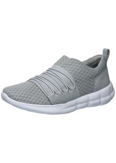 Under Armour Women's Slouchy Slip Sneaker Overcast Gray (4)/White