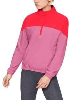 Under Armour Women's Storm Half-Zip Woven Jacket