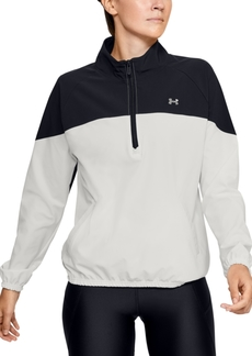 Under Armour Women's Storm Half-Zip Woven Jacket