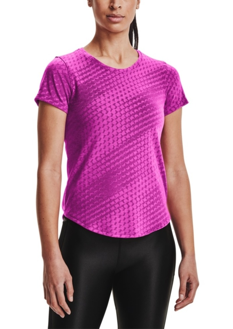 Under Armour Women's Streaker Runclipse Printed Top