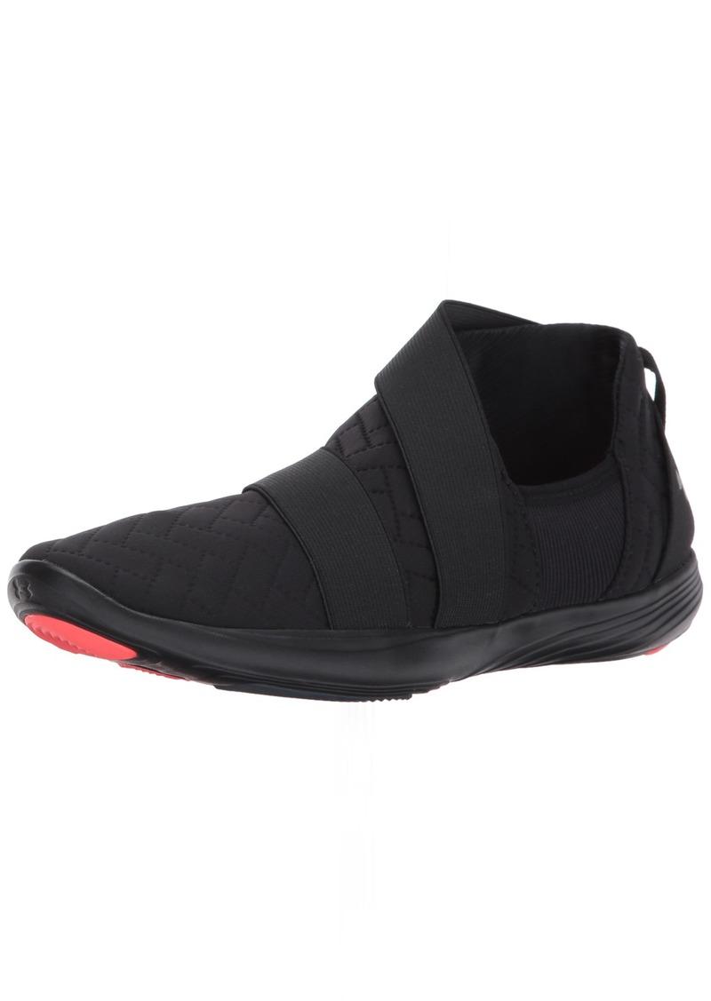 Under Armour Women's Street Precision Slip Metallic Sneaker (001)/Black