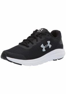 Under Armour Women's Surge 2 Running Shoe Black (001)/White