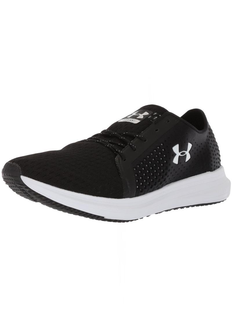 Under Armour Women's Sway Running Shoe Black (001)/White