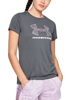 Under Armour Women's Tech SS Crew Graphic Top
