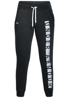 Under Armour Women's UA Favorite Fleece Graphic Pant