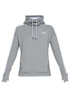 Under Armour Women's UA Featherweight Fleece Funnel Neck Top