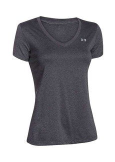 Under Armour Women's UA Tech Solid V-Neck SS Top