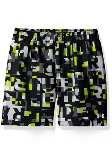 Under Armour Word Toss Volley Little Boys' Swim Shorts
