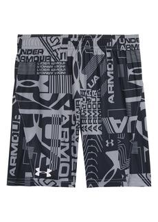 Under Armour Wordmark Boost Athletic Shorts (Little Boy)