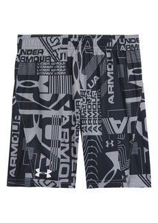 Under Armour Wordmark Boost Athletic Shorts (Toddler)