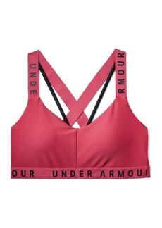 Under Armour Wordmark Cross-Back Low-Impact Sports Bra