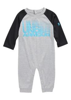 Under Armour Wordmark HeatGear® Romper (Baby Boys)