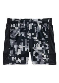 Under Armour Wordmark Stunt Athletic HeatGear® Shorts (Baby Boys)