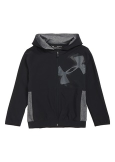 Under Armour Woven Hooded Warm-Up Jacket (Big Boys)