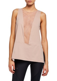 Under Armour x Misty Copeland Signature Embroidered Performance Tank  Pink