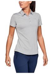 Under Armour Women's Zinger Short Sleeve Golf Polo