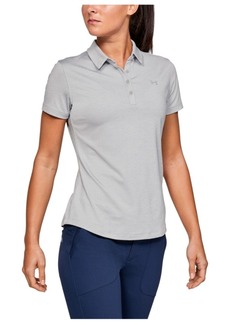 Under Armour Women's Zinger Short Sleeve Polo