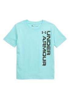 Under Armour Zooming Logo Graphic HeatGear® T-Shirt (Toddler Boys & Little Boys)