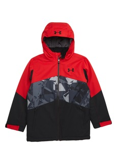 Under Armour Zumatrek Water Repellent ColdGear® Hooded Jacket (Big Boys)