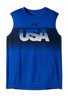 Under Armour USA Tank (Big Kids)