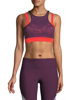 Under Armour Vanish Mesh Mid-Impact Sports Bra