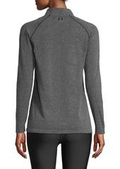 Under Armour Vanish Seamless Quarter-Zip Pullover Top