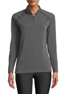 Under Armour Vanish Seamless Quarter-Zip Pullover Top