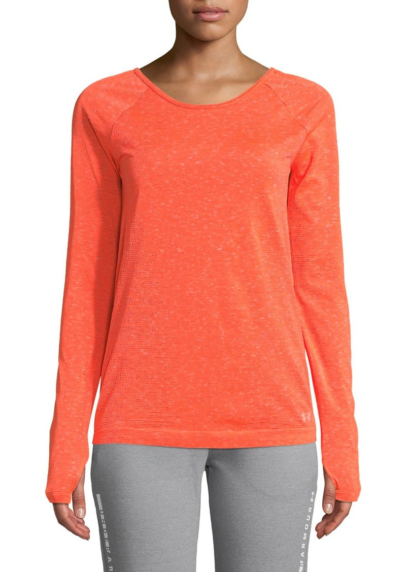 Under Armour Vanish Seamless Space-Dye Long-Sleeve Top