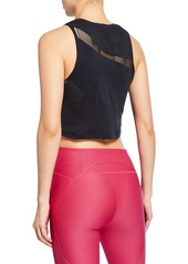 Under Armour Warrior Knit Cropped Tank