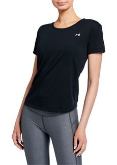 Under Armour Whisperlight Mesh Short-Sleeve Top