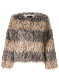 Unreal Fur faux fur Landscape Jacket