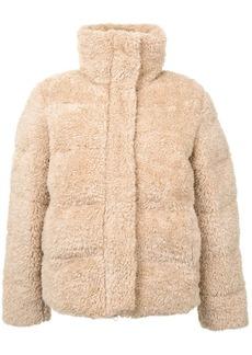 Unreal Fur faux fur puffer jacket