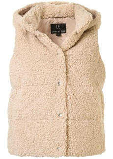 Unreal Fur faux shearling gilet