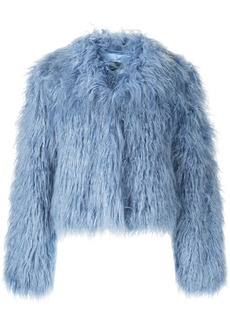 Unreal Fur fitted textured jacket