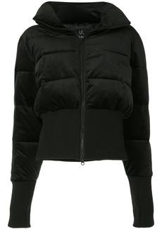 Unreal Fur glove-detail padded jacket