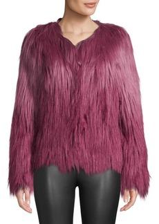 Unreal Fur Ombré Faux Fur Jacket